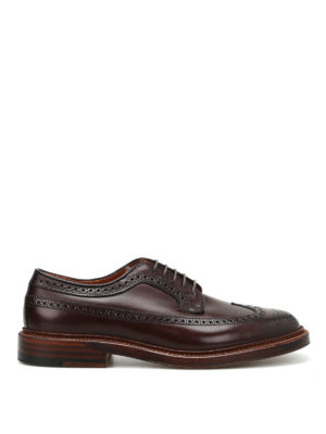 Alden: classic shoes - Longwing leather Derby shoes
