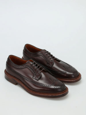 Alden: classic shoes online - Longwing leather Derby shoes