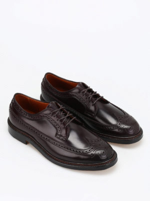 Alden: classic shoes online - Shell Cordovan Derby brogues