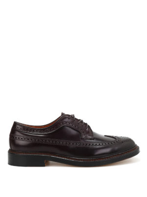 Alden: classic shoes - Shell Cordovan Derby brogues