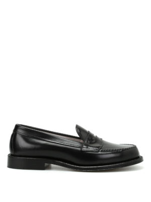 Alden: Loafers & Slippers - Brushed leather classic loafers