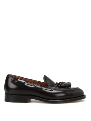 Alden: Loafers & Slippers - Cordovan tassel detail loafers