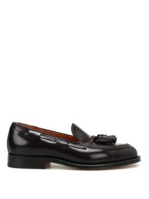 Alden: Loafers & Slippers - Cordovan tassel detail loafers