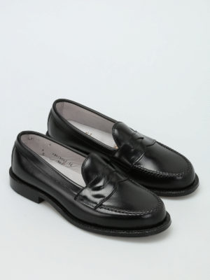 Alden: Loafers & Slippers online - Brushed leather classic loafers