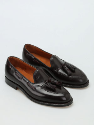 Alden: Loafers & Slippers online - Cordovan tassel detail loafers