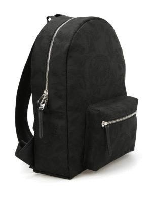 Alexander Mcqueen: backpacks online - Skull Camouflage backpack