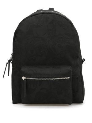 Alexander Mcqueen: backpacks - Skull Camouflage backpack