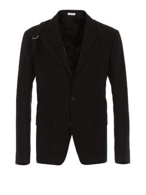 ALEXANDER MCQUEEN: blazers - Cotton blazer