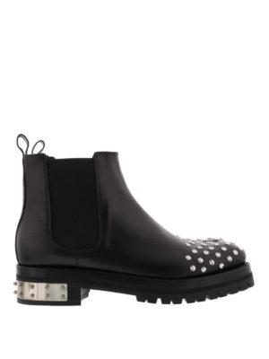 Alexander Mcqueen: boots - Studded boots