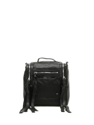 Alexander Mcqueen: bowling bags - Loveless leather box bag