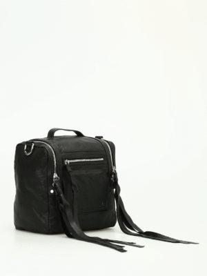 Alexander Mcqueen: bowling bags online - Loveless leather box bag