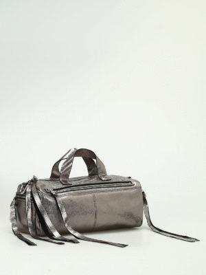 Alexander Mcqueen: bowling bags online - Mini Holdall bowling bag