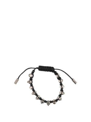 Alexander Mcqueen: Bracelets & Bangles - Mini Skull bracelet