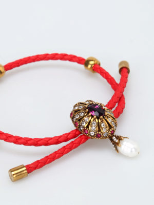 Alexander Mcqueen: Bracelets & Bangles online - Friendship Jewel red bracelet