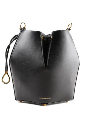 ALEXANDER MCQUEEN: Secchielli - Borsa nera The Bucket Bag