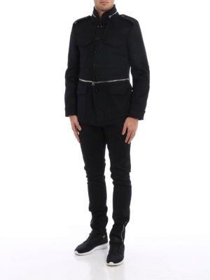 Alexander Mcqueen: casual jackets online - Wool and cashmere field jacket
