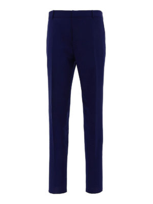ALEXANDER MCQUEEN: casual trousers - Wool blend classic trousers