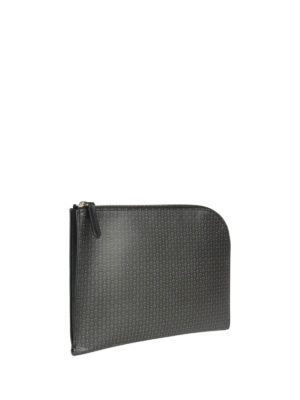 Alexander Mcqueen: clutches online - Skull printed leather small clutch