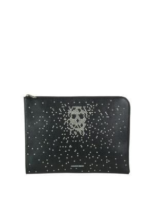 ALEXANDER MCQUEEN: pochette - Pochette Skull con borchie