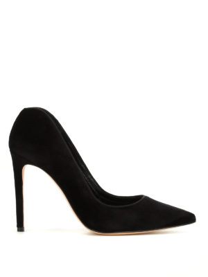 Alexander Mcqueen: court shoes - Ofelia velvet pumps