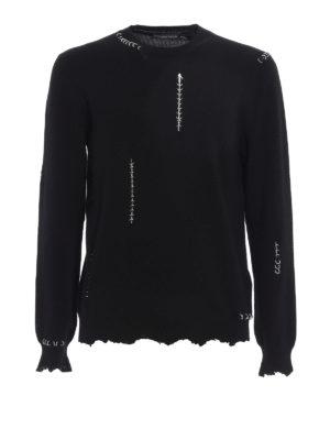 Alexander Mcqueen: crew necks - Wool and cashmere crewneck