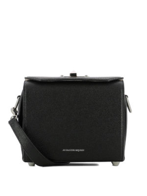 Alexander Mcqueen: cross body bags - Black Box Bag 19