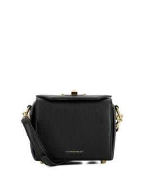 Alexander Mcqueen: cross body bags - Box Bag 16 leather crossbody