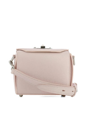 Alexander Mcqueen: cross body bags - Box Bag 16 pink cross body bag