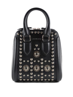 Alexander Mcqueen: cross body bags - Heroine bowling bag