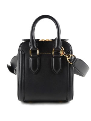 Alexander Mcqueen: cross body bags - Heroine small bowling bag