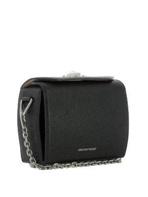 Alexander Mcqueen: cross body bags online - Black Box Bag 19
