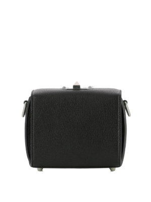 Alexander Mcqueen: cross body bags online - Box Bag 16 black cross body bag