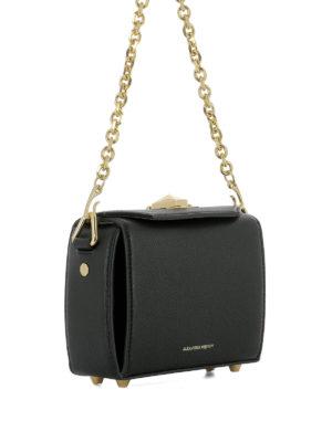 Alexander Mcqueen: cross body bags online - Box Bag 16 leather crossbody