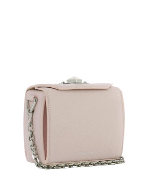 Alexander Mcqueen: cross body bags online - Box Bag 16 pink cross body bag