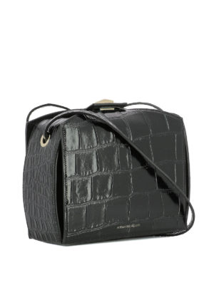 Alexander Mcqueen: cross body bags online - Box Bag in printed leather