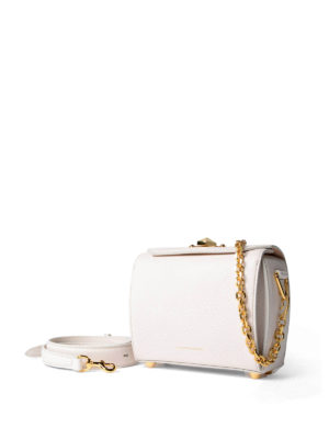 Alexander Mcqueen: cross body bags online - Leather Box Bag 19