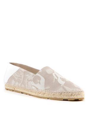 Alexander Mcqueen: espadrilles online - Patterned cotton espadrilles