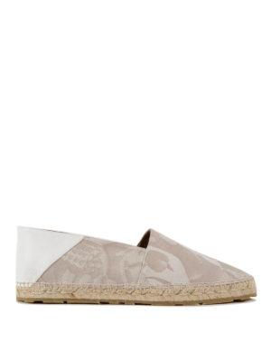 Alexander Mcqueen: espadrilles - Patterned cotton espadrilles