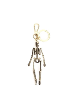 Alexander Mcqueen: key holders online - Skeleton golden key holder
