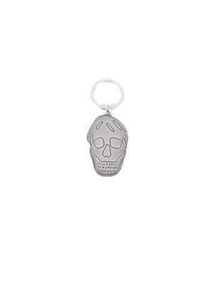 Alexander Mcqueen: key holders - Skull key ring