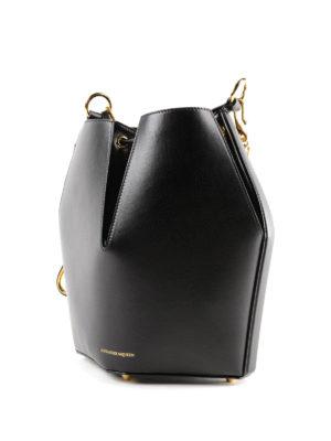 ALEXANDER MCQUEEN: Secchielli online - Borsa nera The Bucket Bag