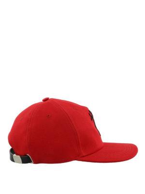 ALEXANDER MCQUEEN: cappelli online - Cappellino Dancing Skeleton