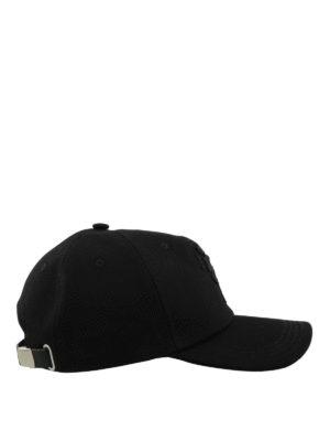 ALEXANDER MCQUEEN: cappelli online - Cappellino Dancing Skeleton nero
