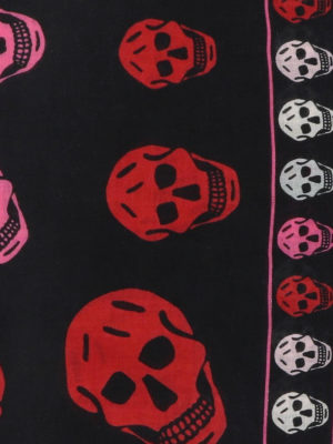 ALEXANDER MCQUEEN: sciarpe e foulard online - Sciarpa Skull in misto lana