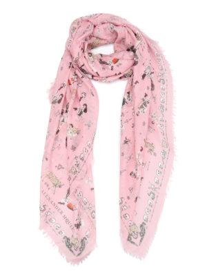Alexander Mcqueen: scarves - Circus tricks foulard