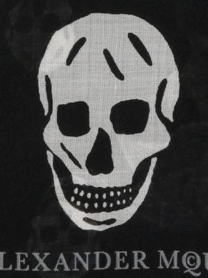 Alexander Mcqueen: scarves online - Punk Skull scarf