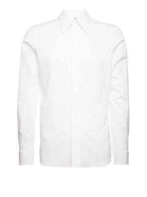 Alexander Mcqueen: shirts - Cotton poplin elegant shirt