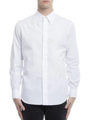 Alexander Mcqueen: shirts online - Cotton poplin elegant shirt