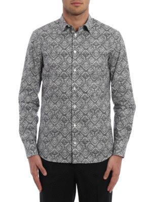 Alexander Mcqueen: shirts online - Patterned cotton shirt
