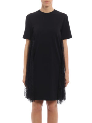 Alexander Mcqueen: short dresses online - Lace inserts baby doll dress